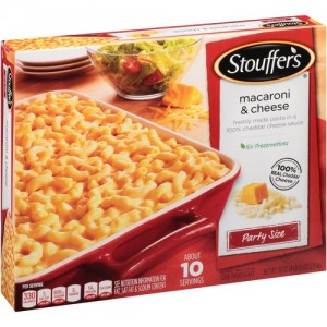 stouffer's mac and cheese