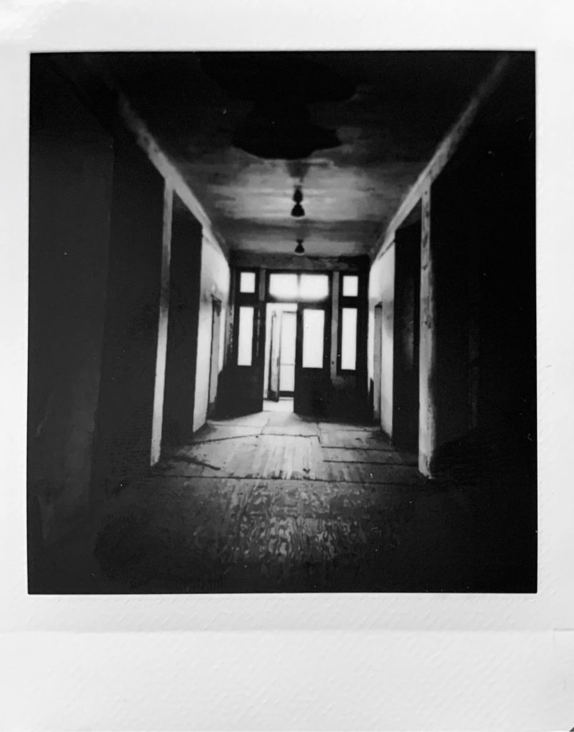 ellis island abandoned hospital hallway